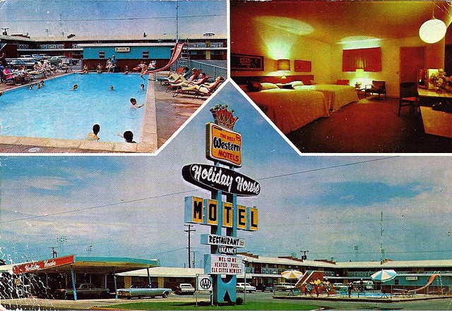 Holiday House Motel Elk City Ok Circa 1960s Flickr