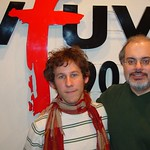 Ben Lee at WFUV with Darren DeVivo