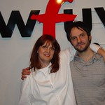 Mike Viola at WFUV with Claudia Marshall