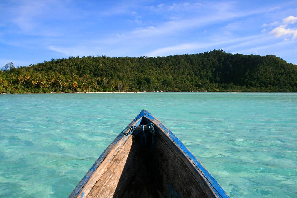 The islands of Raja Ampat.