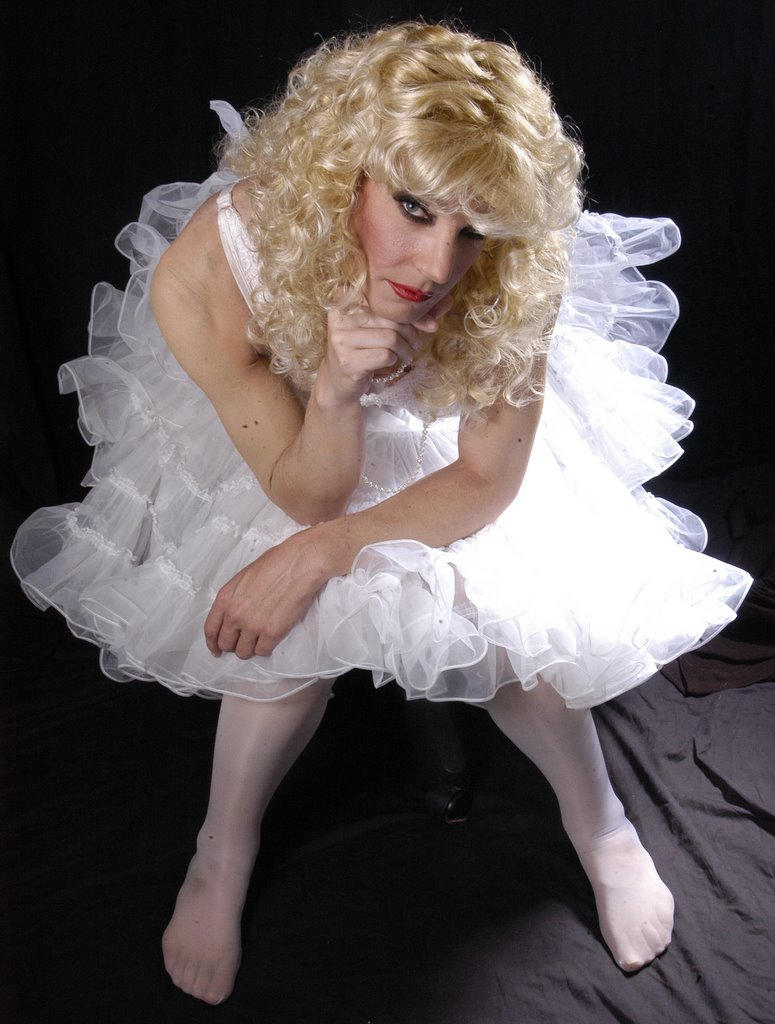 Crossdresser Tiffany In A PettiCoat
