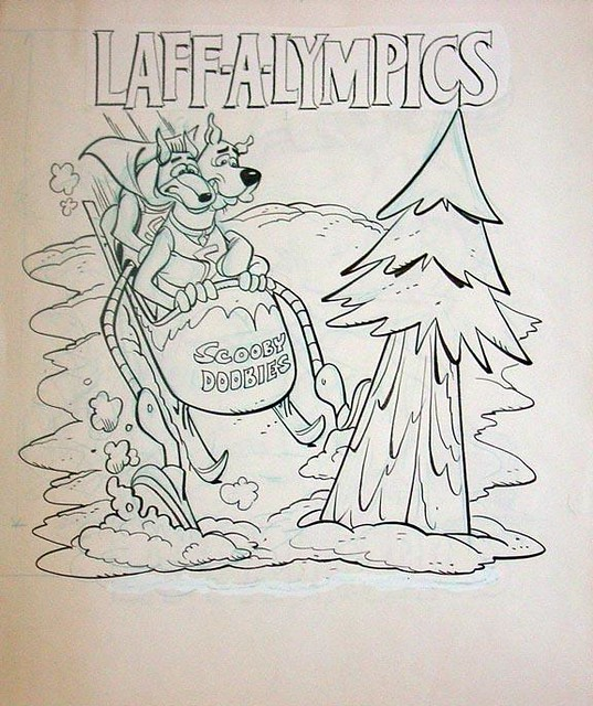 hanna barbera coloring pages - photo#35