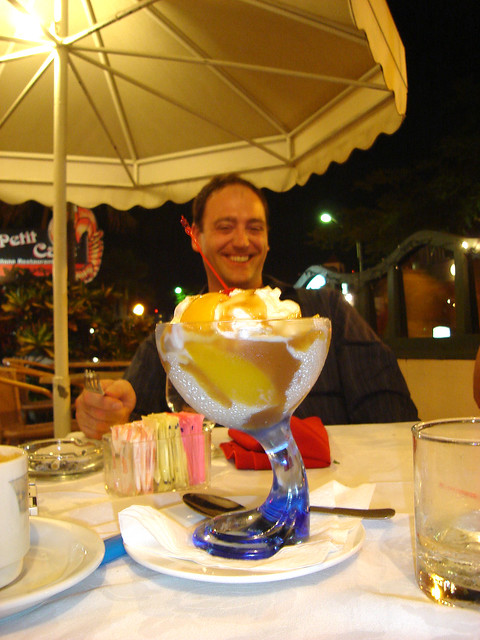 Aruba Le petit Cafe - Peach Melba DELIGHT | trust me. substi ...
