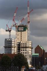 Skyscraper being built