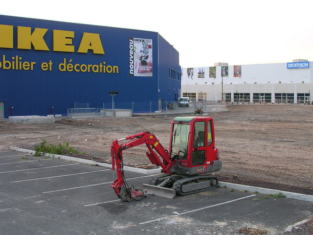 agrandissement d 39 ikea montpellier fr34 flickr photo sharing. Black Bedroom Furniture Sets. Home Design Ideas