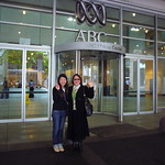 Valerie & Pauline outside the ABC Ultimo Centre, Sydney
