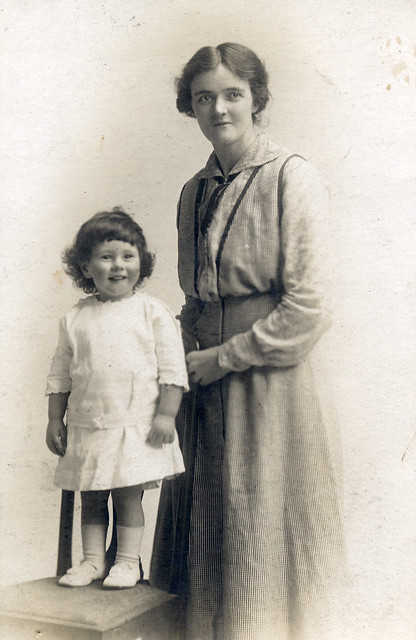 Mother and child about 1920