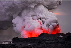 types of volcanic eruptions(1.0), lava(1.0), volcano(1.0), lava dome(1.0), formation(1.0), volcanic landform(1.0),