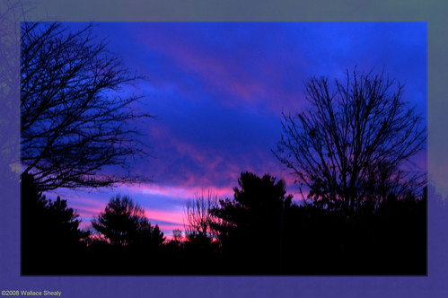 pink blue sunset usa geotagged nc unitedstates northcarolina wallace jupiter 2008 weaverville shealy wallaceshealy northcarolinanc wallaceshealyphotographer geo:lat=3576867878 geo:lon=8257219077