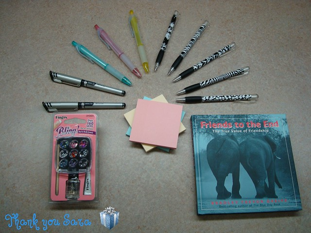 Five Papermate Animal Print Pens She got me these because the prints on the