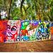Graffiti (Muro da Fundação O Pão dos Pobres de Santo Antônio) by Omar Junior