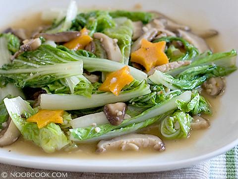 Napa Cabbage Stir Fry | Flickr - Photo Sharing!