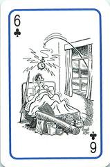 Platnik Fishing Cartoon Playing Cards