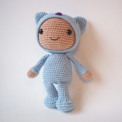 Boneca Lara Amigurumi | Elo7 | 240x240