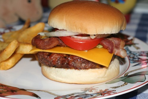 A1 Bacon Cheeseburger