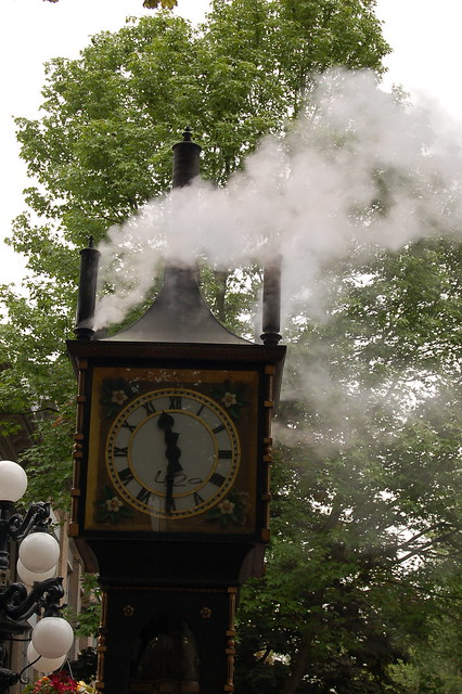 steamclock / Dampfuhr in Vancouver