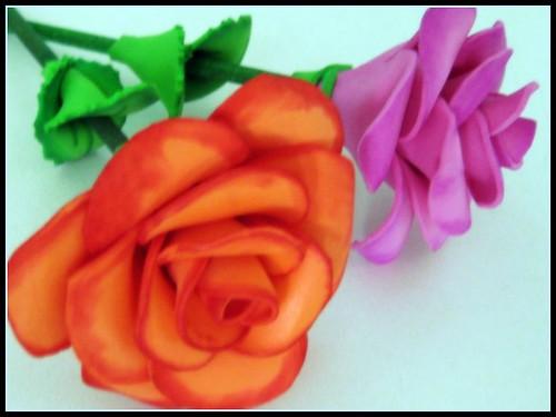 goma eva rosas