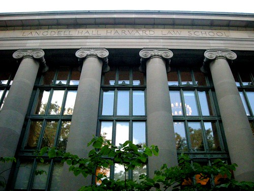 Harvard Law School Langdell Hall