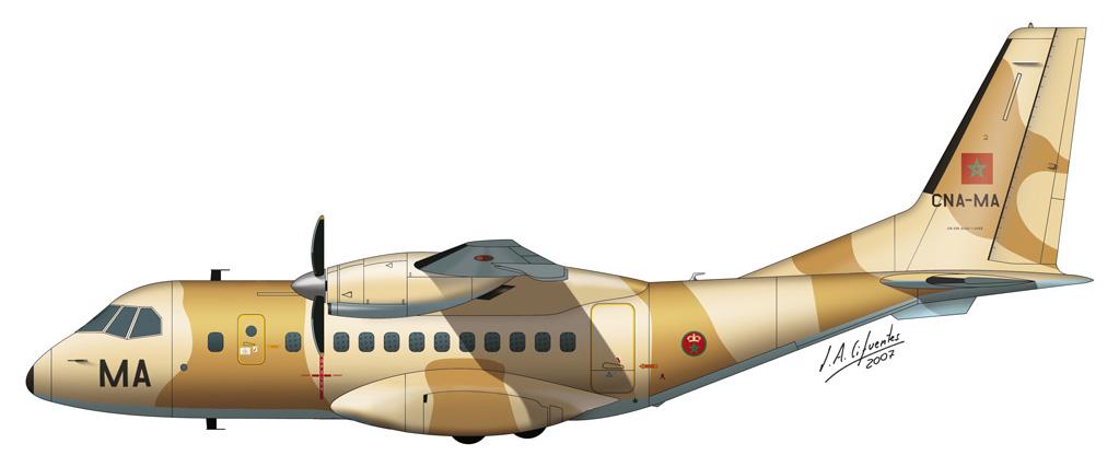 CN-235 Marruecos