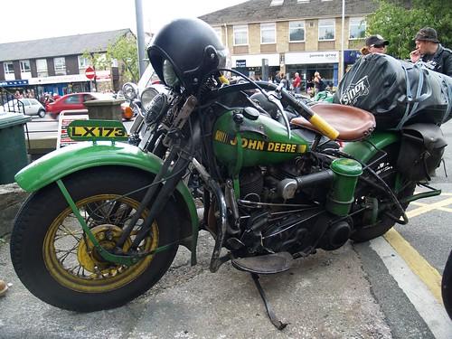Harley Davidson  (John Deere) Motorbikes