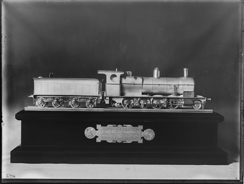 A model of P Class locomotive number 356