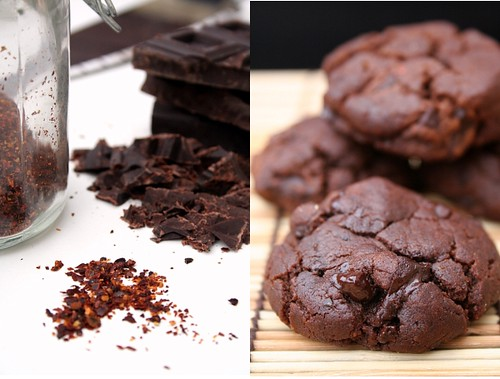 Chocolate-Chili Cookies