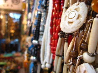 Shopping at Janpath for junk jewelry - Things to do in New Delhi