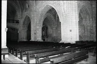 P30T> Santa María de Valbuena. Interior de la iglesia