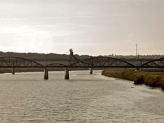 Ponte ferroviária, Alcácer do Sal, 2008.11.06