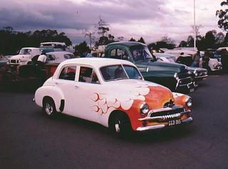 Car Show in 1975, Melbourne, Australia