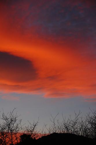 sunset colorado boulder