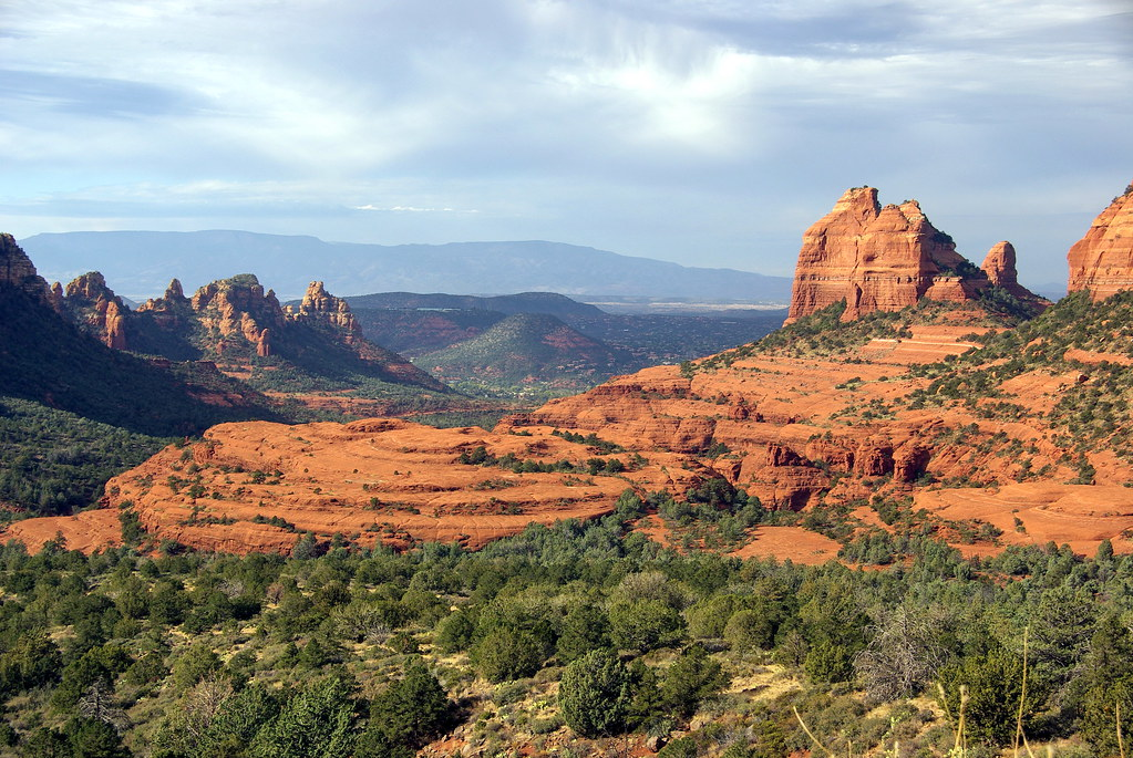 Munds Wagon Trail - Sedona Arizona - view to southwest