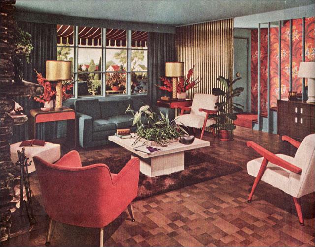 1948 Retro Living Room Flickr Photo Sharing
