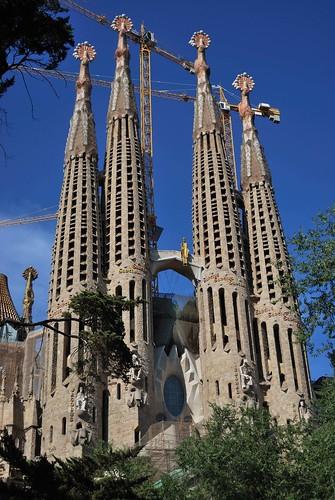 Barcelona- Gaudi- Temple de la Sagrada Familia