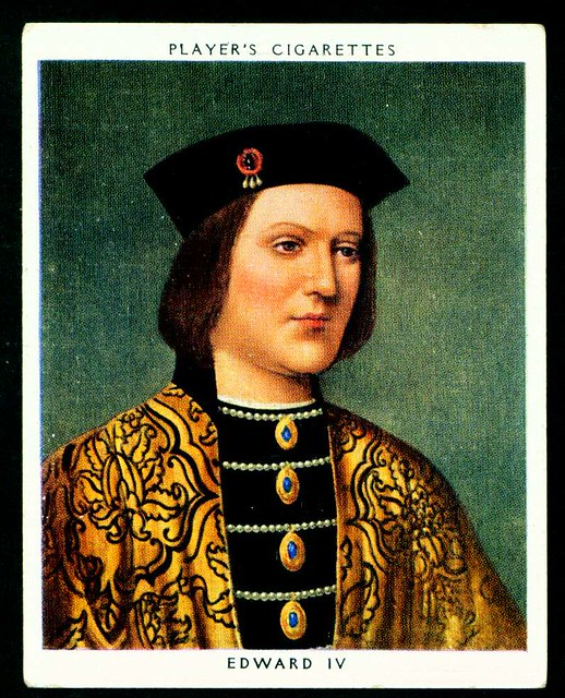 Cigarette Card - King Edward IV