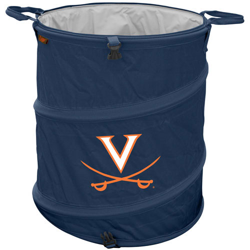 Virginia Trash Can Cooler Collapsible Design For Tailgating Camping Clothes Hamper More