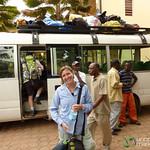 Gearing Up for Kilimanjaro Climb - Moshi, Tanzania