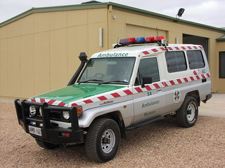 South Australia Toyota Landcruiser Ambulance
