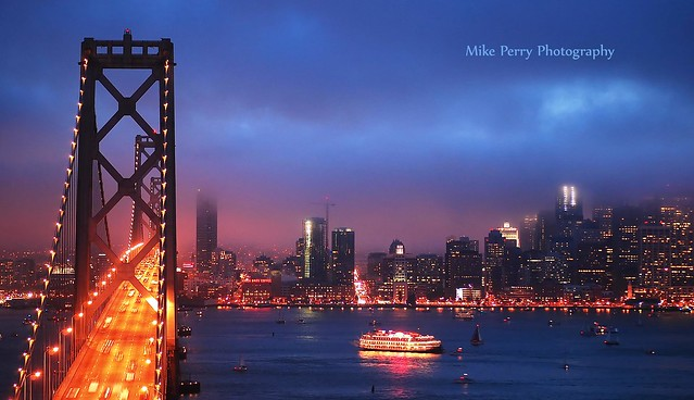 Twilight on San Francisco Bay