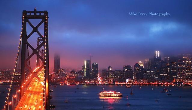 Twilight on San Francisco Bay