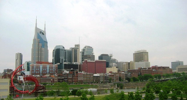 Nashville Skyline by CC user 89241789@N00 on Flickr