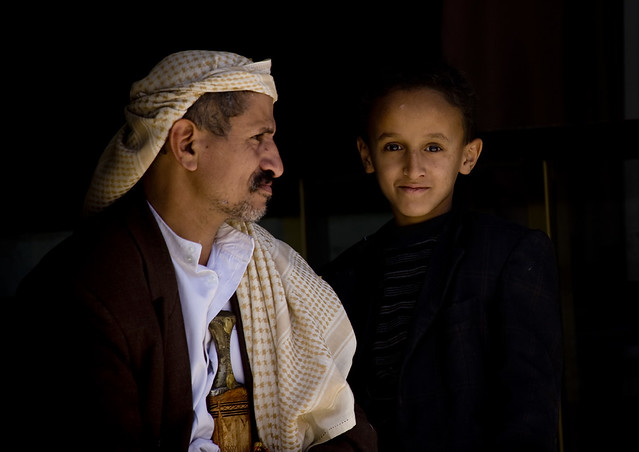 Father and son - Yemen