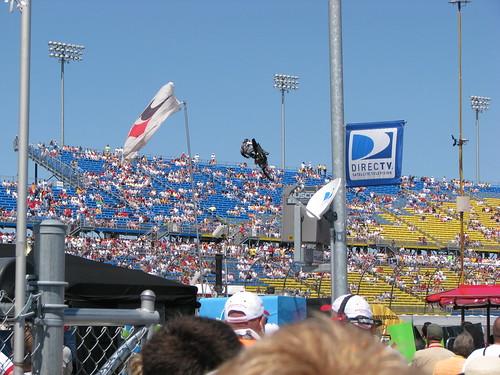 racetrack racecar jump iowa motorcycle motorsports newton stunt irl indycar metalmulisha indyracingleague iowaspeedway fanwalk iowacornindy250