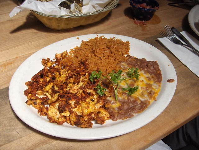 Chorizo and eggs | Flickr - Photo Sharing!