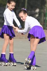skating, roller sport, footwear, purple, play, sports, roller skates, roller skating,