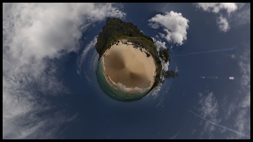 Hawaii Oahu (Stereographic projection)