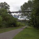 Panhandle Trail: West Virginia - Old PRR Signal Bridge
