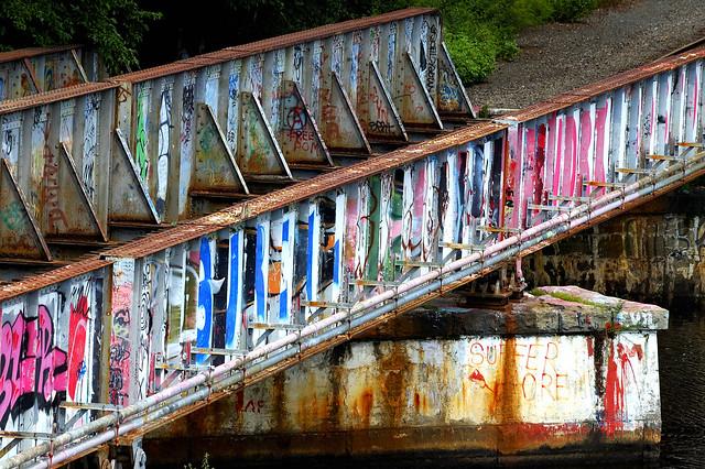 Angle Finder App >> Colorful Boston bridge graffiti | Flickr - Photo Sharing!