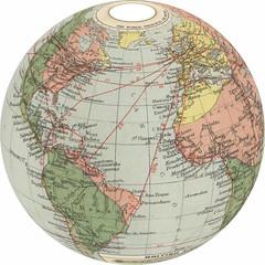map, globe,