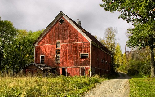 Vermont Barn by Sunset Sailor